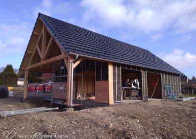 Maison bois à Bellenglise (02420), Aisne