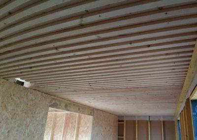 Bellenglise - Dalle bois massif préfabriquée en atelier